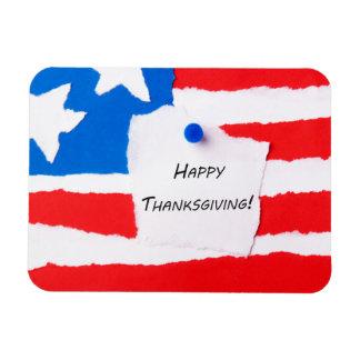 Happy Thanksgiving Notepad Rectangular Photo Magnet