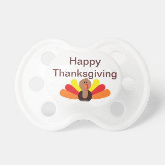 """Happy Thanksgiving"" Pacifier"