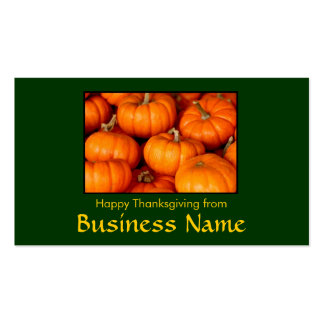 Happy Thanksgiving Pack Of Standard Business Cards