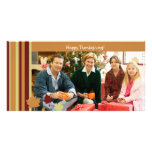 Happy Thanksgiving! Personalized Photo Card