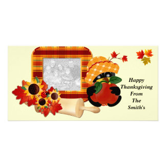 Happy Thanksgiving Photo Cards