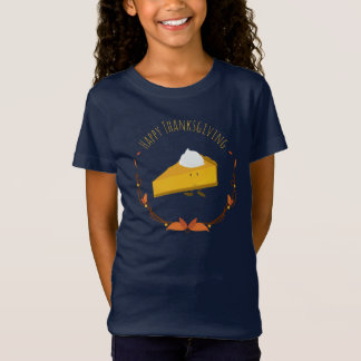 Happy Thanksgiving Pie Slice | Girl's T-shirt