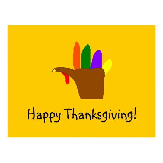 Happy Thanksgiving! - postcard