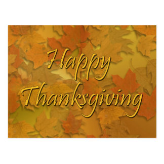 Happy Thanksgiving Postcard