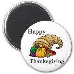 Happy Thanksgiving Refrigerator Magnet