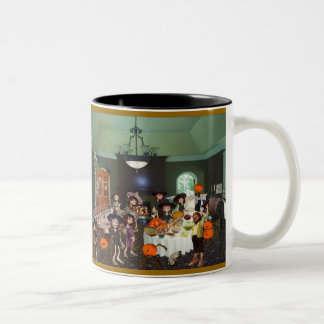Happy Thanksgiving! Two-Tone Coffee Mug