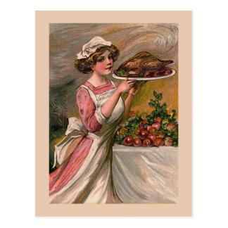 """Happy Thanksgiving"" Vintage Postcard"