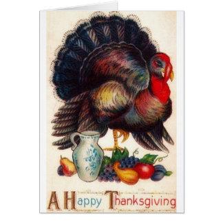 Happy Thanksgiving Vintage Turkey Greeting Cards