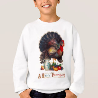 Happy Thanksgiving Vintage Turkey Sweatshirt