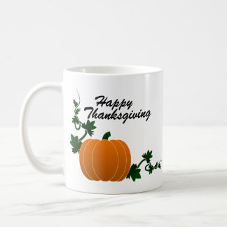 Happy Thanksgiving with Pumpkins -  Mug