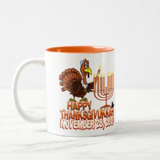 Happy Thanksgivukkah Coffee Mug