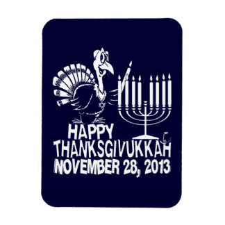 Happy Thanksgivukkah Hanukkah Thankgiving Magnet