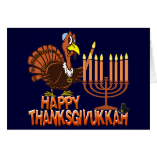 Happy Thanksgivukkah Hanukkah Thanksgiving Cards