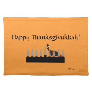 Happy Thanksgivukkah Placemat