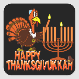 Happy Thanksgivukkah Stickers