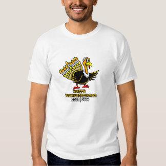 Happy  Thanksgivukkah Turkey Lighting Menorah T Shirt