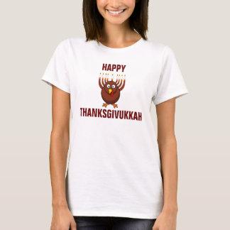 Happy Thanksgivukkah Turkey Menorah T-Shirt