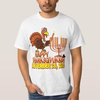 Happy Thanksgivukkah Turkey & Menorah T-shirt