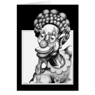 Happy the Clown Greeting Card