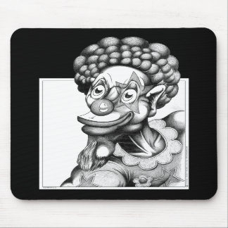Happy the Clown Mouse Pad