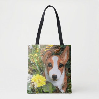 """Happy the Corgi"" Tote"