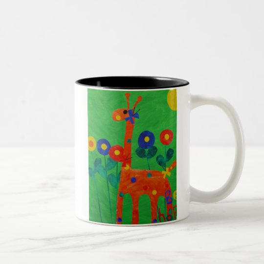 Happy the Giraffe Coffee Cup