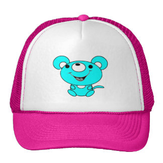 Happy The Mouse Mesh Hats