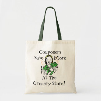 Happy Thrifty Lady Money in Hand Savings Gifts Tote Bag