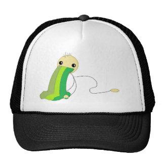 Happy Throw-Up Guy Hat