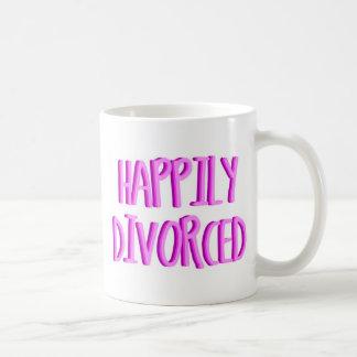 Happy To Be Divorced Female Coffee Mug