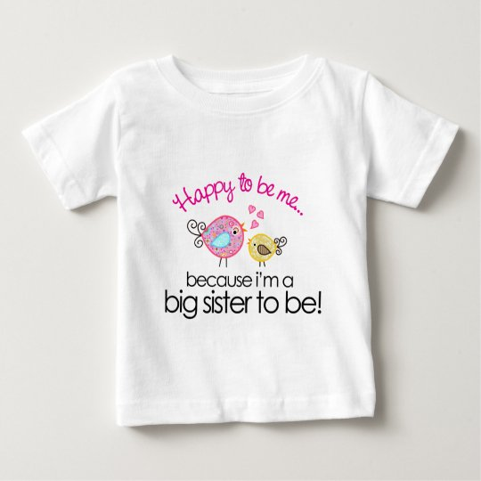 Happy To Be Me Whimsy Bird Big Sister