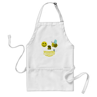 happy to bee fishing aprons
