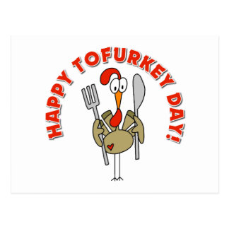 Happy Tofurkey Day Gift Post Cards