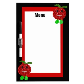 Happy Tomato Custom Menu Board