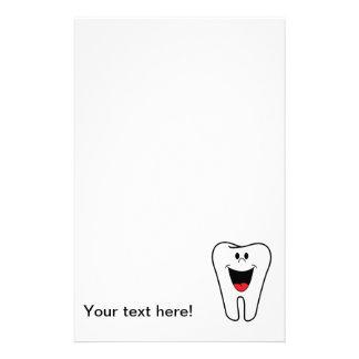 Happy tooth cartoon customized stationery