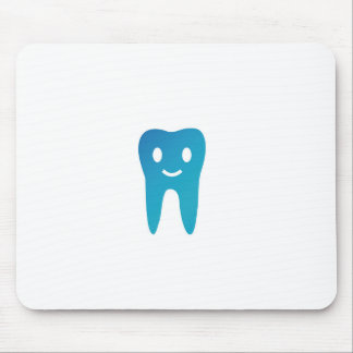 Happy tooth mouse mat