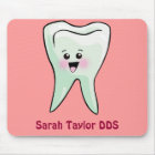 Happy Tooth Personalised (Any Name) Mouse Mat