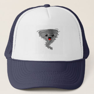 Happy Tornado on the Brain Trucker Hat