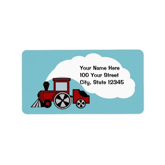 Happy Tracks Address Address Label