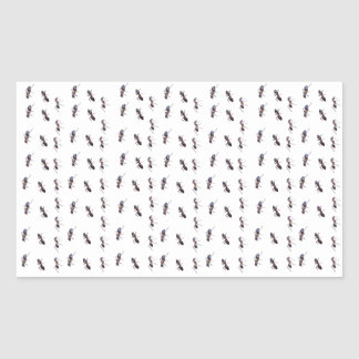 Happy Trails - ant #1 Rectangular Sticker