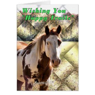 Happy Trails Graduation Greeting Card