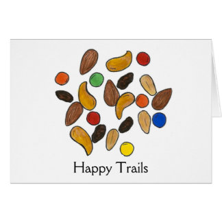 Happy Trails Trail Mix Cards
