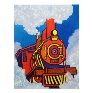 Happy Train Custom Flyer