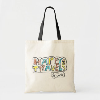 Happy Travels by Jack Tote Bag