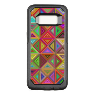Happy triangle mosaic OtterBox commuter samsung galaxy s8 case