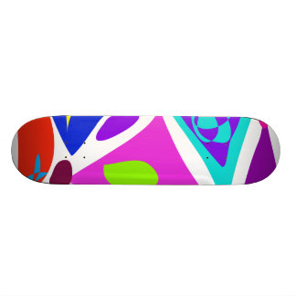 Happy Triangles Custom Skateboard