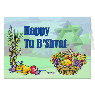 Happy Tu B'Shvat Card