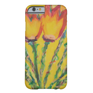 Happy Tulips Barely There iPhone 6 Case