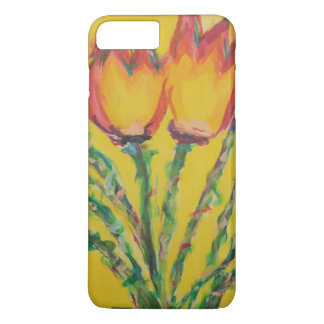 Happy Tulips iPhone 7 Plus Case