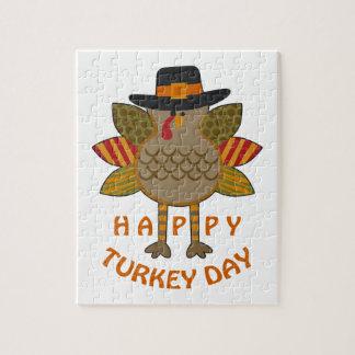 Happy Turkey Day Jigsaw Puzzle